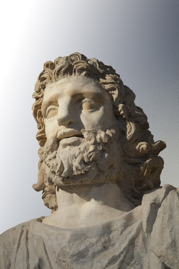 """Lo Zeus di Solunto, Museo Regionale """"A. Salinas"""", Palermo - Ph. Iole Carollo"""