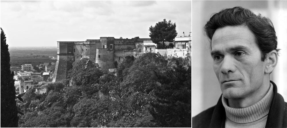 Veduta del Castello di Massafra (Ta) - Ph. © Ferruccio Cornicello   Pier Paolo Pasolini - Image source