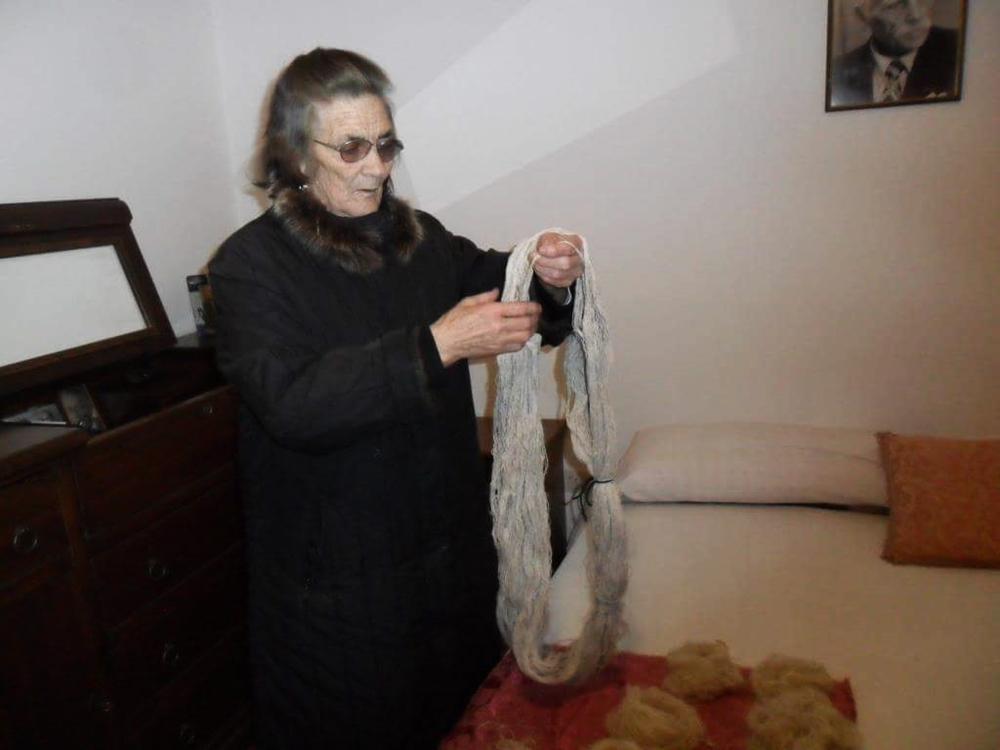 La signora Maria Rocca - Ph. courtesy Luigi Elia
