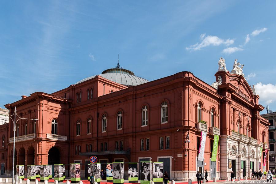 Teatro Petruzzelli, Bari, sede scelta per la proiezione delle Anteprime Internazionali e per le premiazioni -  Ph.  © Ferruccio Cornicello