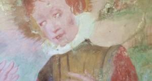 Nel borgo calabrese di Oriolo riemerge un ciclo di affreschi del '400