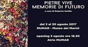 Pietre Vive Memorie di Futuro: al MuMar di Soriano Calabro personale di Massimiliano Ferragina