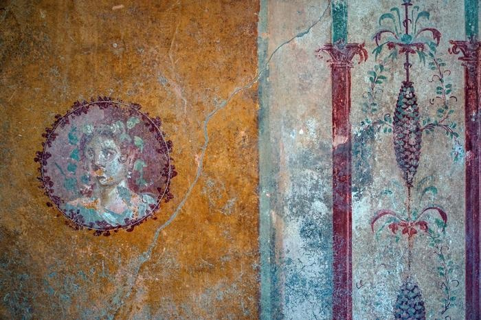 Pompei, affresco I sec. d.C. - Ph. Soprintendenza Archeologica Pompei