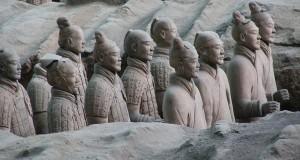L'esercito di terracotta di Xi'An, patrimonio UNESCO, in una spettacolare mostra a Napoli