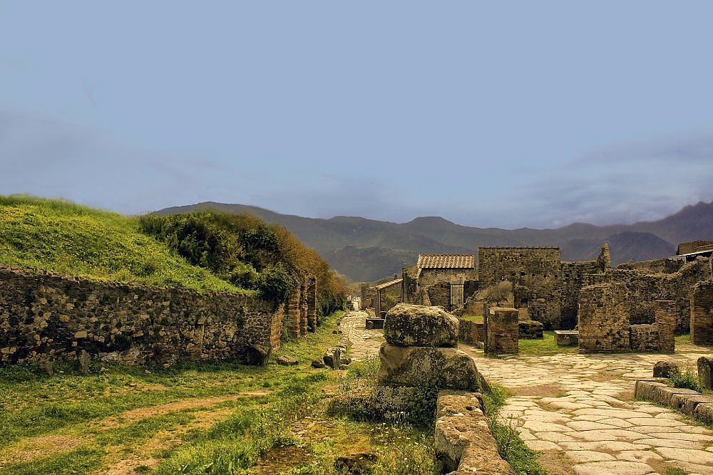 Scorcio di Pompei