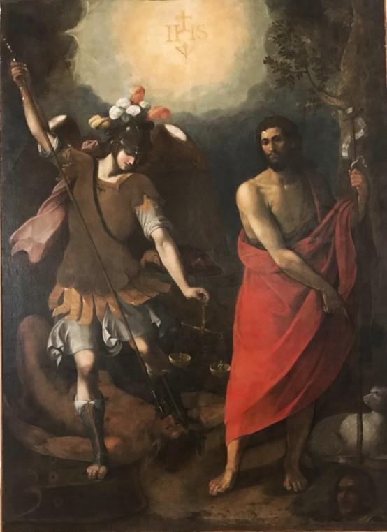 Francesco Cozza, San Michele Arcangelo e S. Giovanni Battista, XVII sec., Bianco (RC), Chiesa Matrice