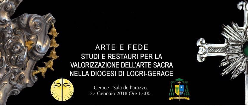 Arte e Fede, Gerace 27 gennaio 2018