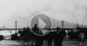 Centoventi anni fa a Napoli il primo «ciak» cinematografico in terra italiana