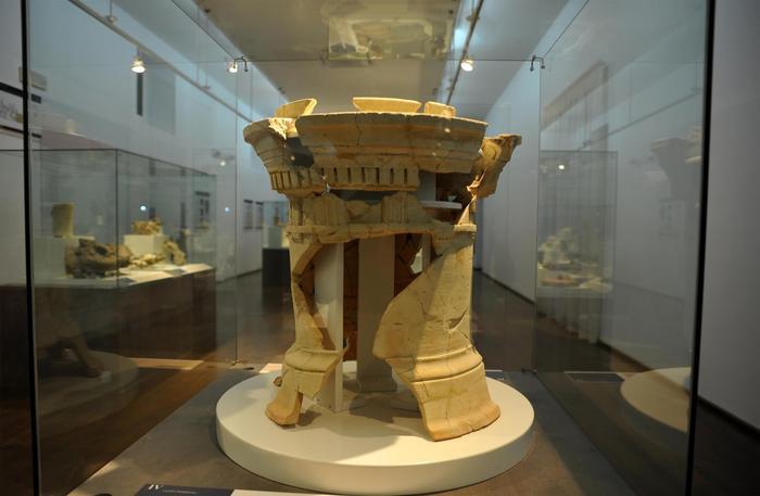 Altare cilindrico dagli scavi di Selinunte - Ph. Ufficio Stampa AlGeo