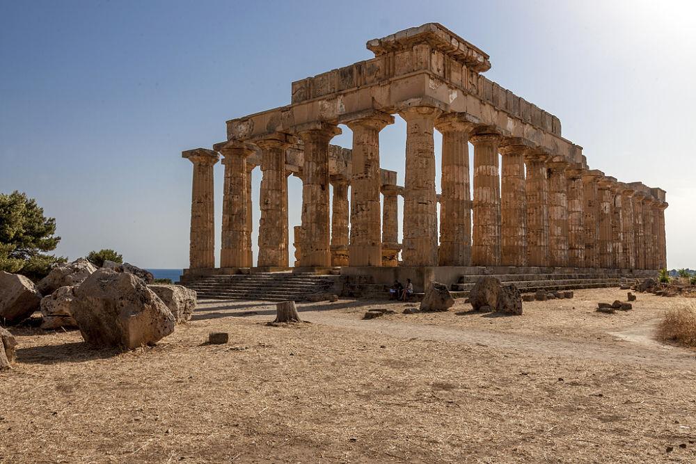 Scorcio del Tempio di Hera, a Selinunte (Trapani) - Ph. Aurelio Candido