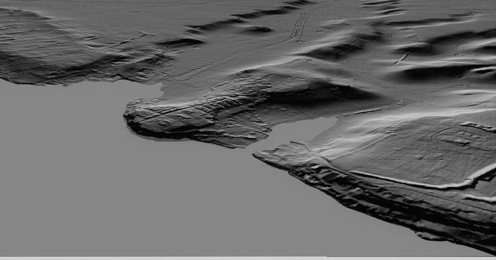 Elaborazione grafica di paleoambiente costiero a Selinunte - Università di Camerino