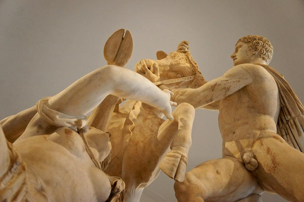 Part. del Toro Farnese, Napoli, Museo Archeologico - Ph. Andrea Tosatto | ccby2.0