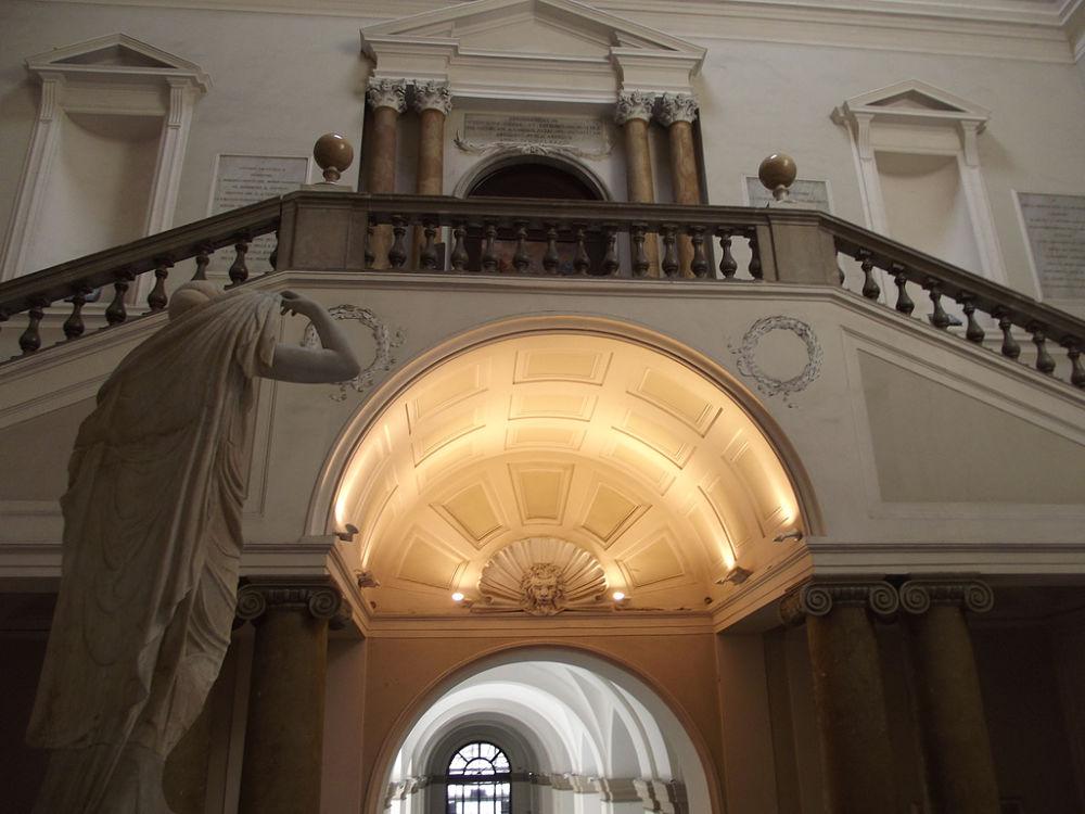 Interno del Museo Archeologico Nazionale di Napoli - Ph.