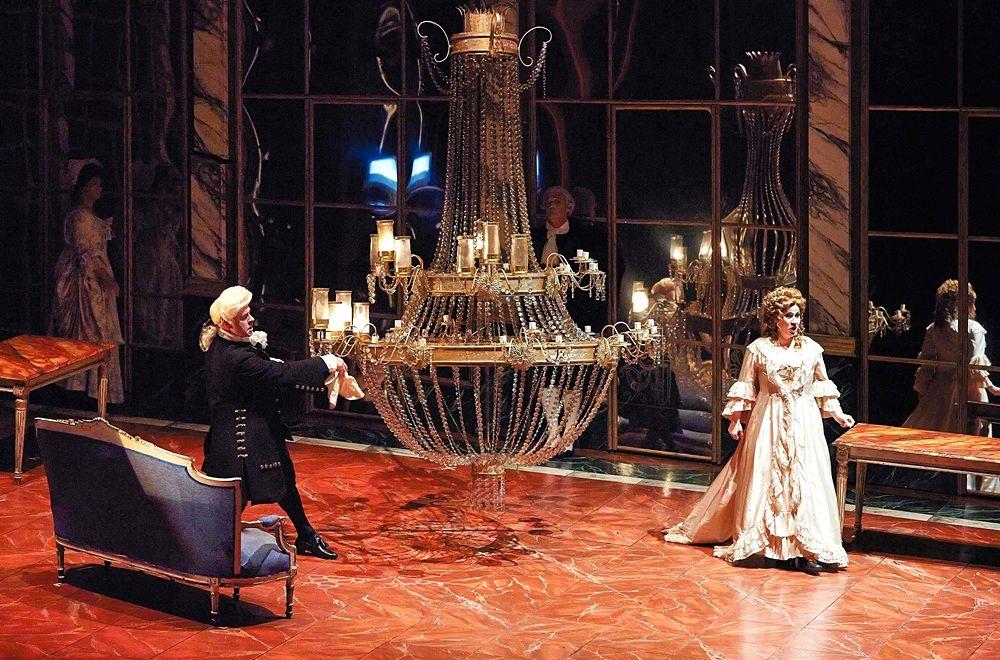 Andrea Chénier, Teatro Petruzzelli, Bari