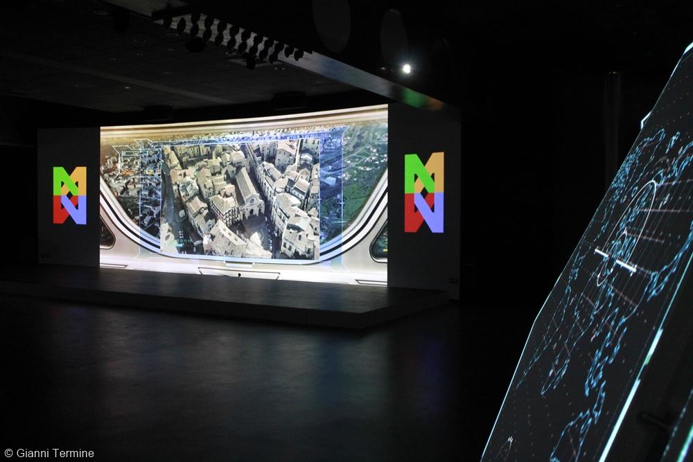 Scorcio  del Museo Multimediale Città di Cosenza - Ph. © Gianni Termine