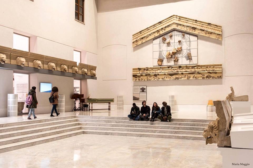 """La nuova Agorà del Museo Archeologico Regionale """"A. Salinas"""" - Ph. Arcaro-Sunseri"""