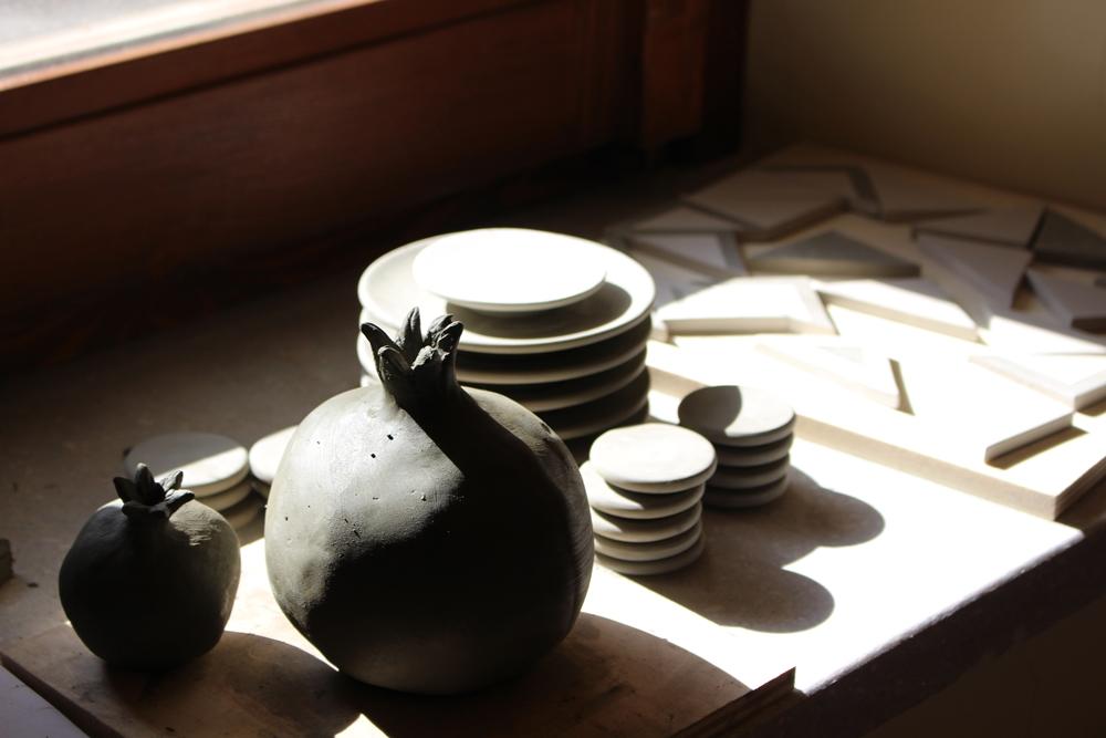 """Laboratori di ceramica al Museo """"Gerard Rohlfs"""", Bova (Reggio Calabria)"""