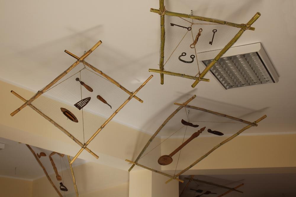 Installazione d'arte contemporanea ispirata alla cultura grecanica, Museo della Lingua Greco-Calabra, Bova (Reggio Calabria)