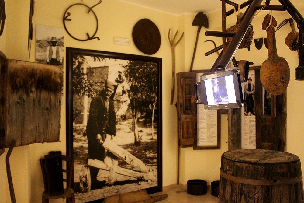 """Scorcio del Museo della Lingua Greco-Calabra """"Gerhard Rohlfs"""", Bova (Reggio Calabria)"""