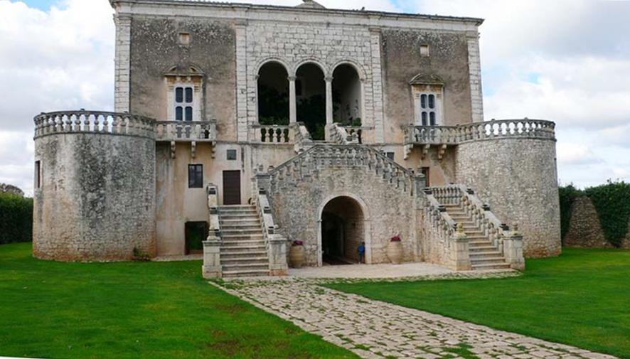 Castello Marchione, XV-XVIII sec., Conversano (Bari) - Ph. Image source