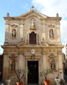Facciata della Cattedrale di San cataldo, Taranto - Image source