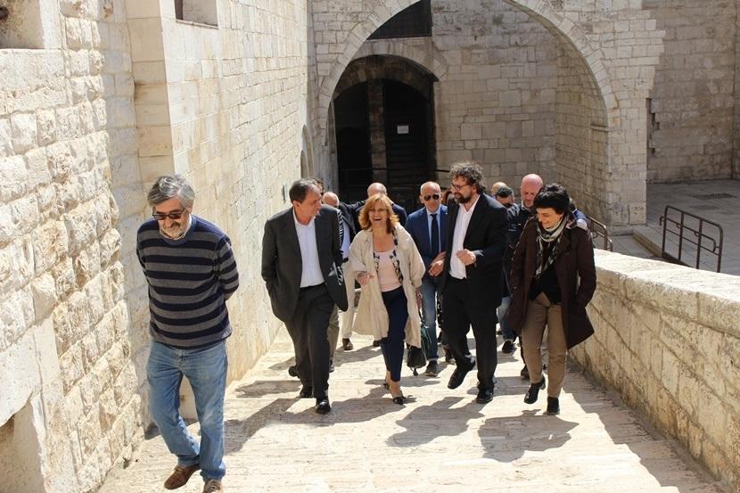 In visita al castello svevo-aragonese di Barletta - © Fondazione ILMC Ph. Luciana Doronzo