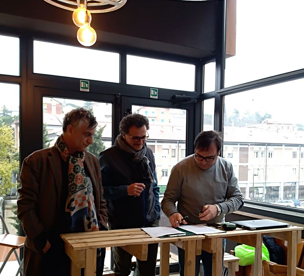 Leporace, Faretta e Candela firmano l'accordo di donazione dell'archivio