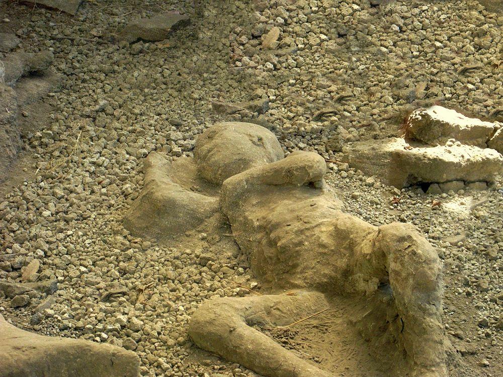 Bambino pompeiano perito nell'eruzione del 79 d.C. - Ph. Andrew Mason | ccby2.0