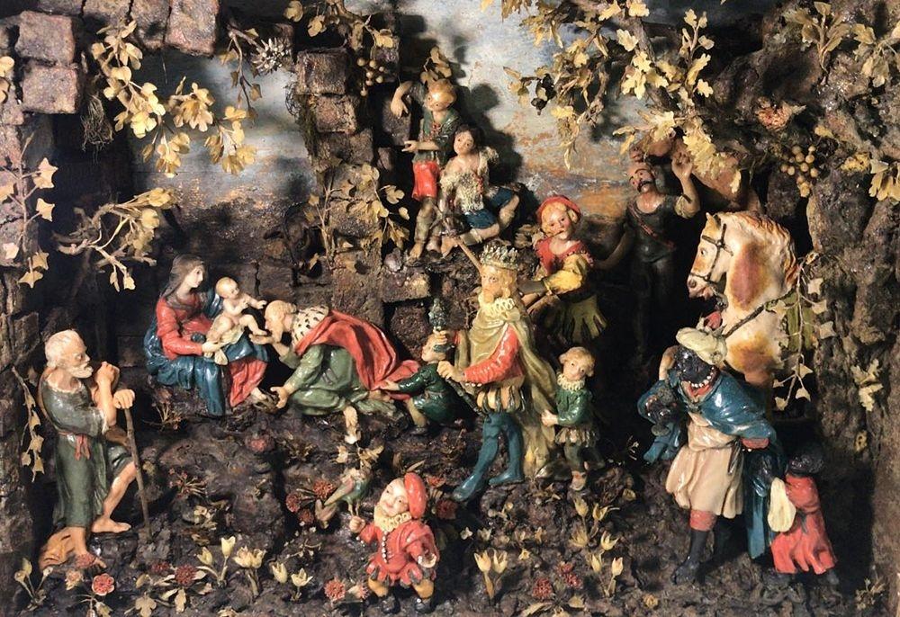 Caterina de'Julianis, Adorazione dei Magi, XVII sec. - Image courtesy Giuseppe Mantella