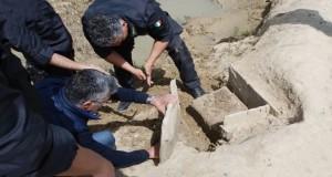 Eccezionale scoperta in Calabria. Dal fiume Neto riemerge una tomba di oltre 3 mila anni fa
