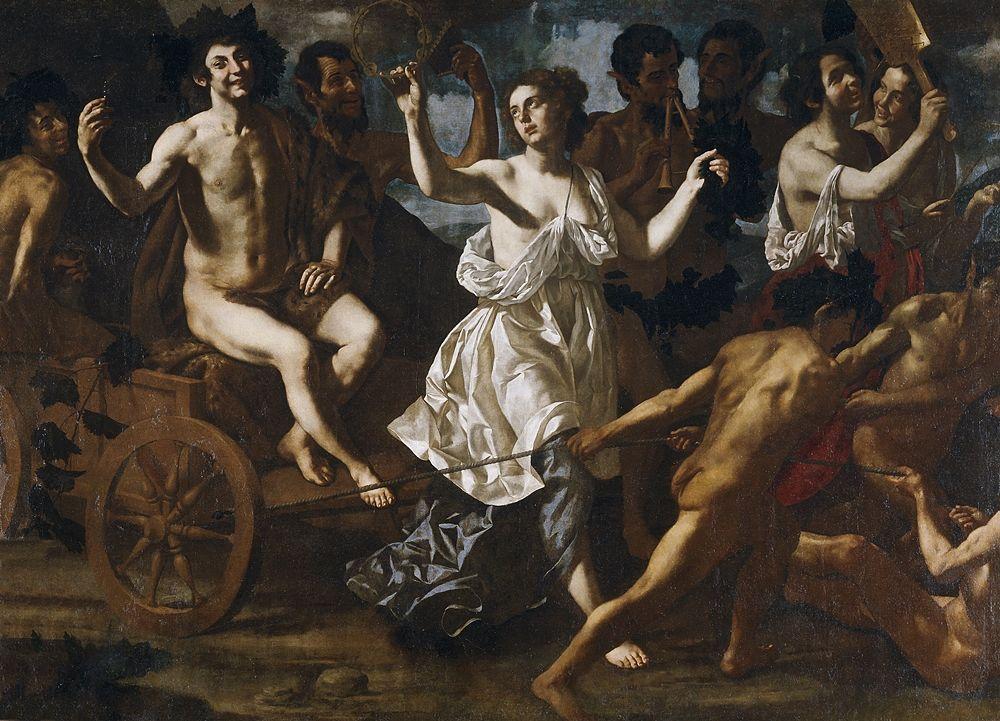Paolo Domenico Finoglio, Trionfo di Bacco, XVII sec., Museo del Prado, Madrid