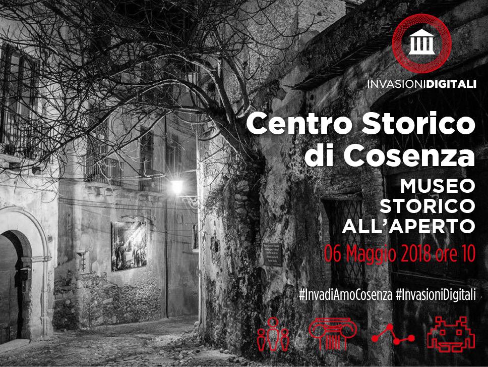 Invasioni Digitali Centro Storico di Cosenza (6 maggio 2018)