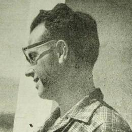 Raoul Maria De Angelis in un'immagine giovanile