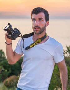 Il fotografo Daniele Macis