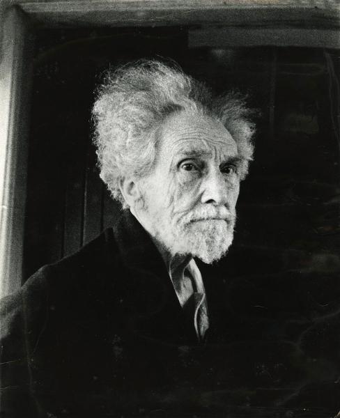 Ezra Pound a S. Ambrogio di Rapallo Ph. © Lisetta Carmi