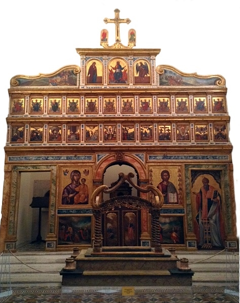 La straordinaria iconostasi della Chiesa di S. Maria degli Angeli, detta dei Greci, Barletta