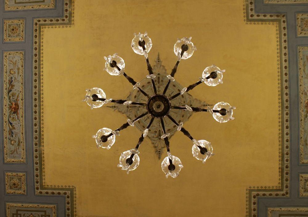 Dettagli a Villa Rendano - Ph. © Gianni Termine