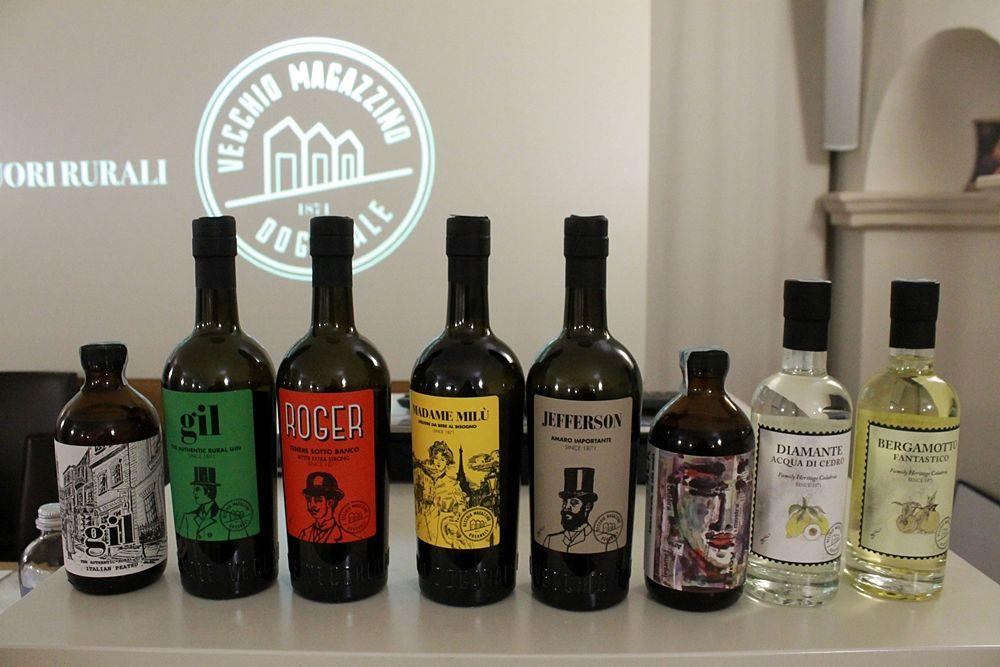 Alcune delle etichette di punta del Vecchio Magazzino Doganale - Ph.  © Gianni Termine