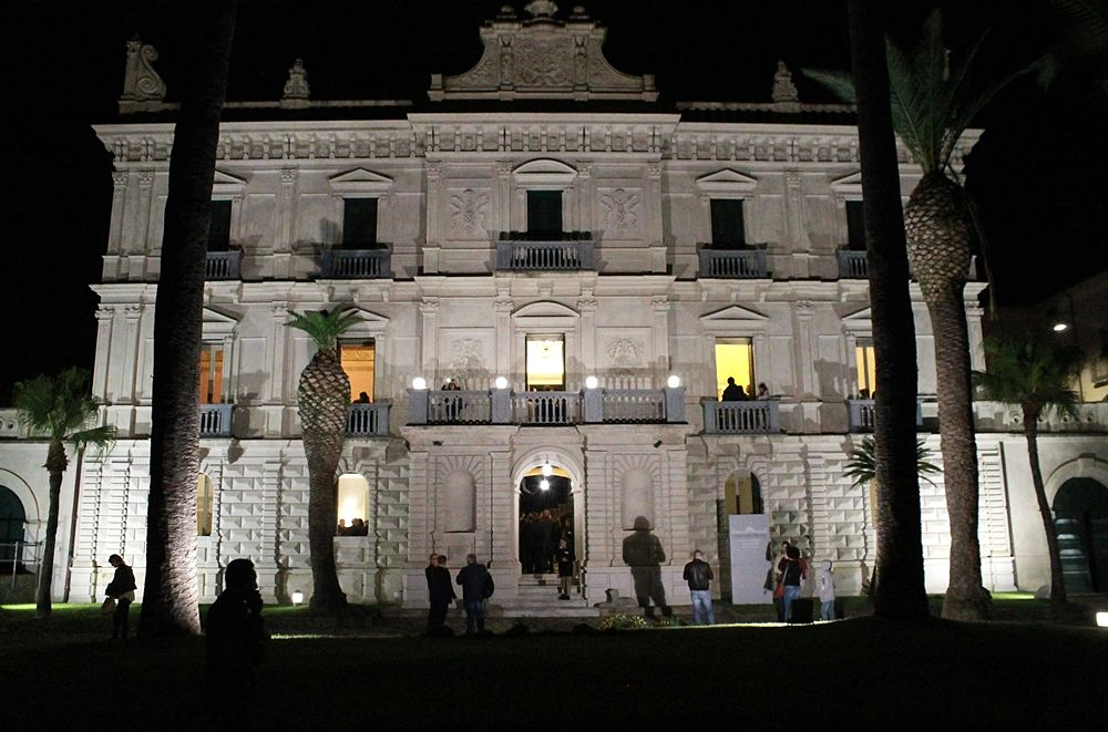 Villa Rendano by night - Ph. © Gianni Termine