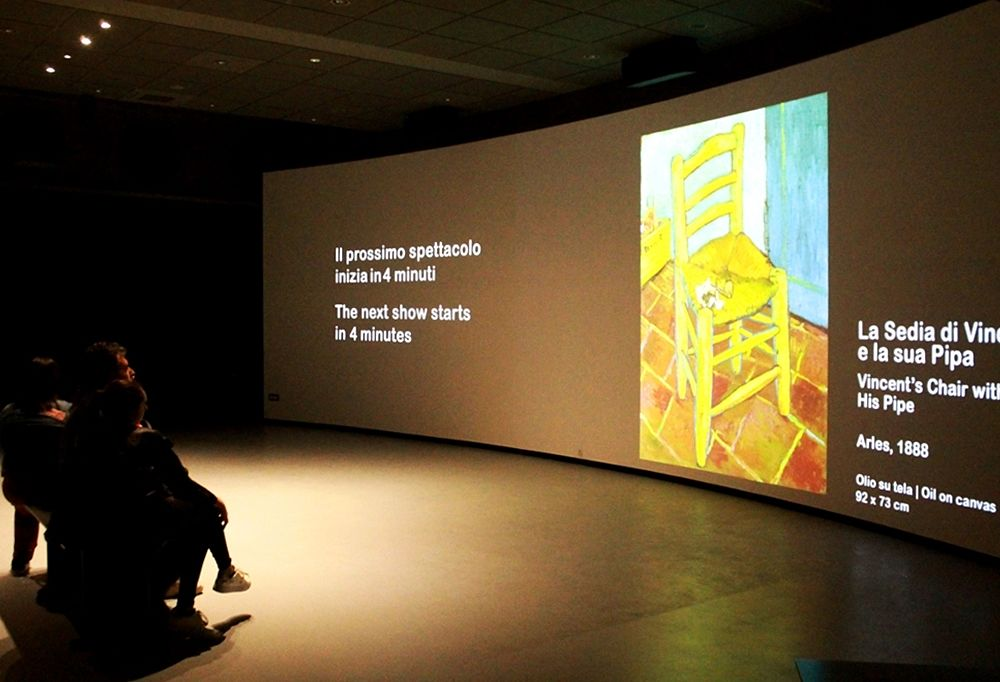 Van Gogh Alive - The Experience, Museo Multimediale, Cosenza – Ph. © Gianni Termine