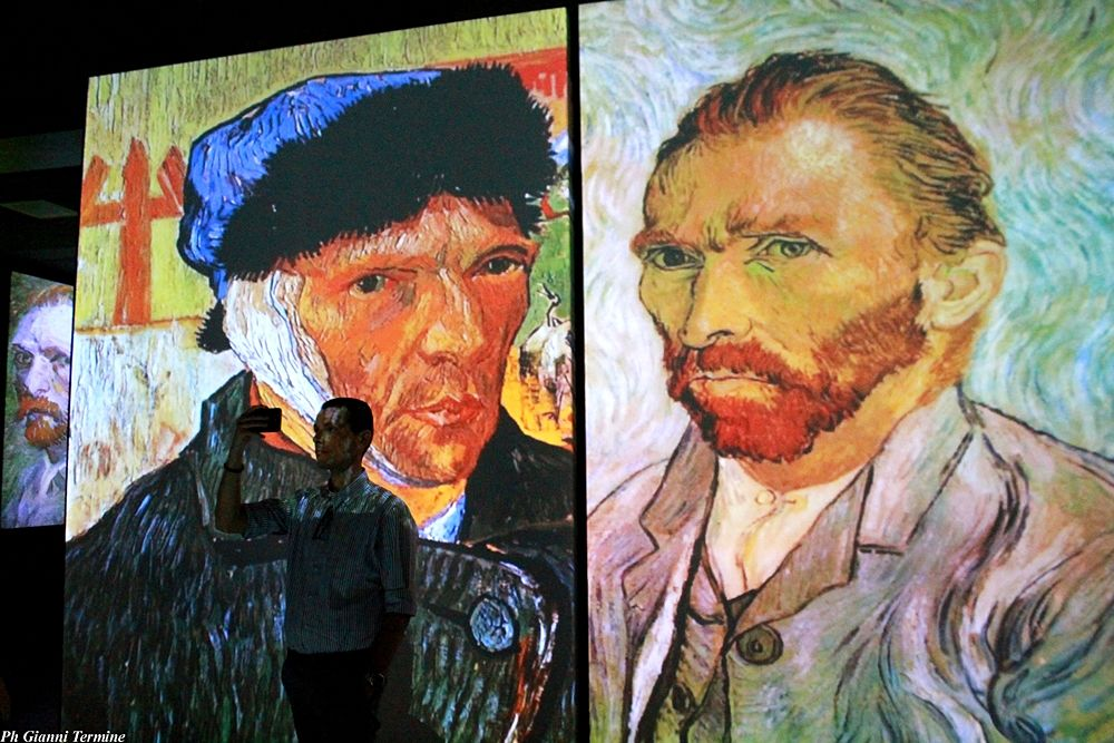 """Un momento della mostra multimediale """"Van Gogh Alive"""" - Ph. © Gianni Termine"""