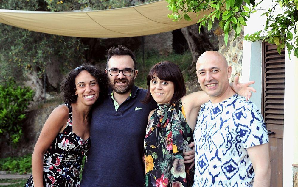 I founders calabresi di Home for Creativity (Roberta Caruso è la prima a sin.)