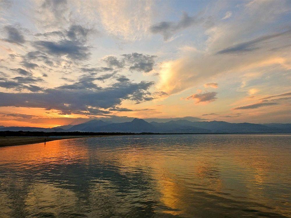 Il mare di Sibari al tramonto – Ph. © Stefano Contin