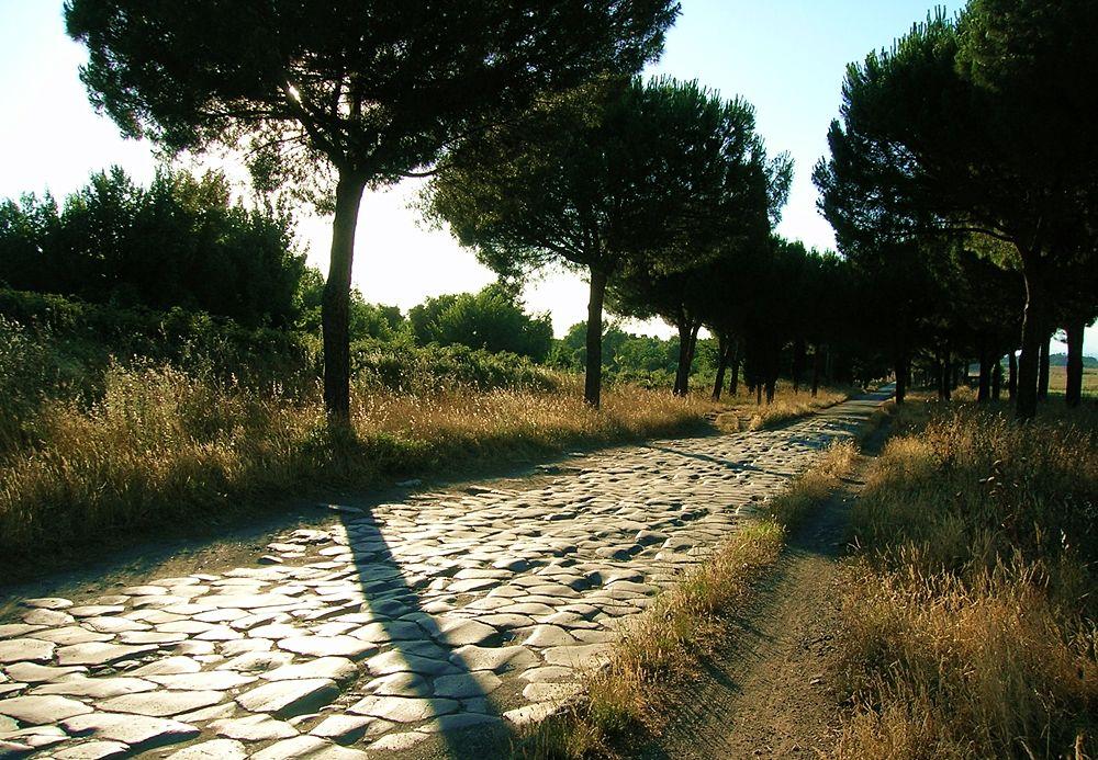 Un tratto della Via Appia, IV-II sec. a.C.