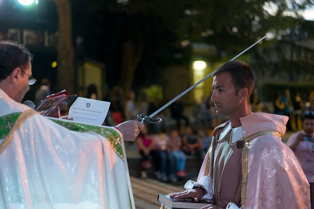 Benedizione dei Cavalieri, Chiesa di S. Francesco di Paola, Bisignano (Cs) - Ph. © Francesco Cariati