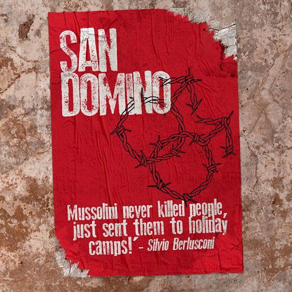 """Il manifesto del musical """"San Domino"""" in scena a Londra"""