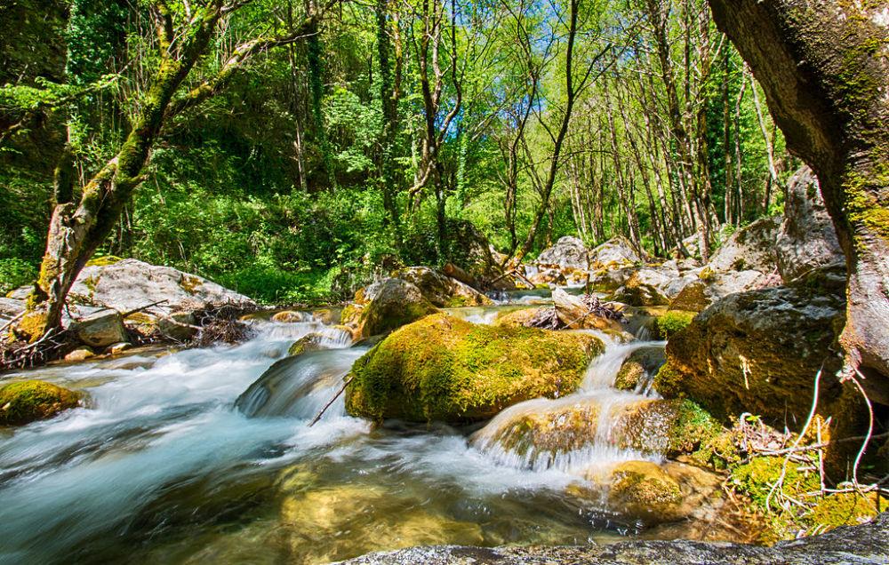 Paesaggio fluviale a San Sosti (Cs) - Image courtesy Maurizio De Luca