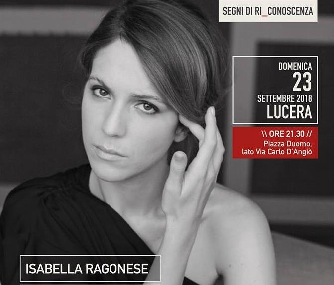 L'attrice siciliana Isabella Ragonese