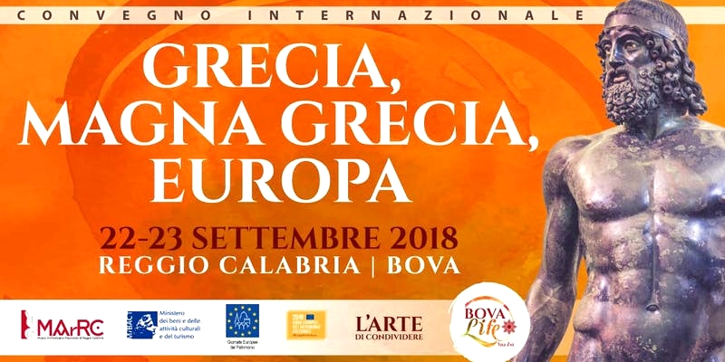 Grecia, Magna Grecia, Europa (Reggio Calabria - Bova, 22-23 settembre 2018)