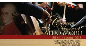 A Bari il Requiem di Mozart per ricordare Aldo Moro a 40 anni dalla scomparsa